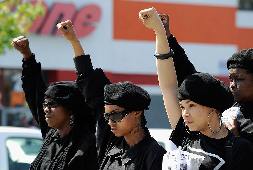 Panteras NegrasImage copyrightGETTY IMAGES Image caption Acción y reacción: El aumento de casos de ciudadanos negros muertos a manos de la policía de Estados Unidos ha impulsado la proliferación de grupos separatistas.