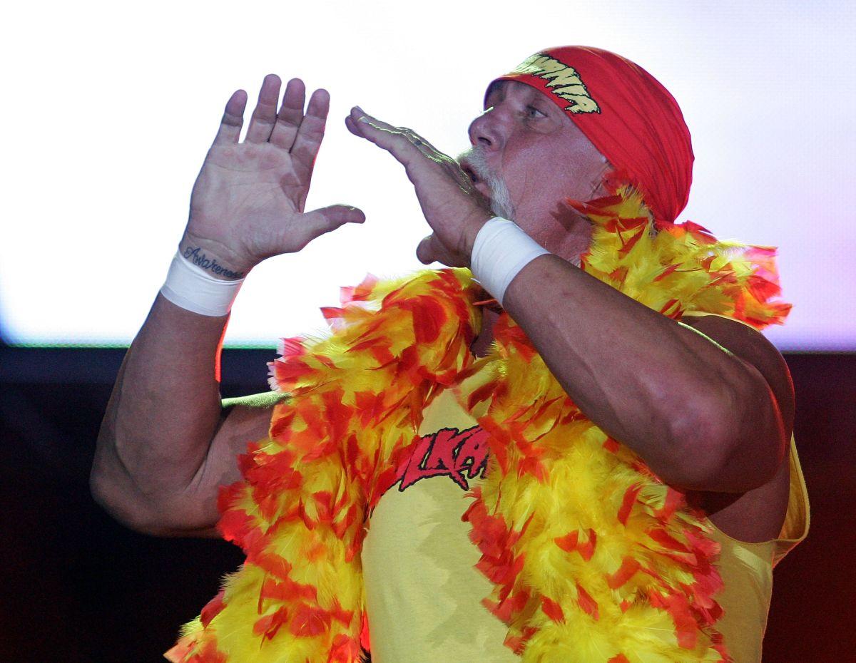 Hogan durante el Hulkamania Tour en 2009.