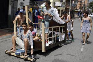 Fotos: Así celebraron el Día de la Pereza en Colombia