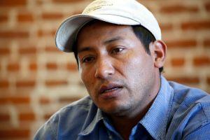 """Tengo miedo que me vayan a matar"", dice líder indígena hondureño"