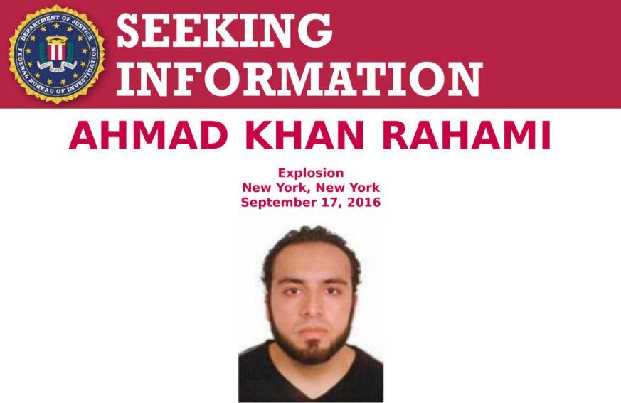 Ahmad Khan Rahami estaría armada y es muy peligroso.