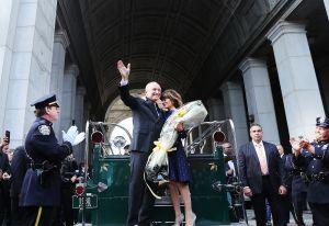 Bill Bratton se despide de la Uniformada neoyorquina