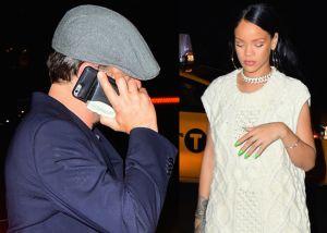 Rihanna pillada de fiesta con un actor de Hollywood y sin Drake a la vista