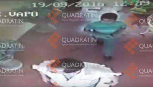 Quadratín informó que afuera del hotel donde supuestamente fue visto el sacerdote, había un automóvil marca VW, tipo Jetta, que le habría sido robado.