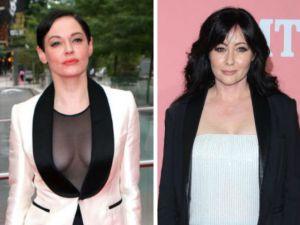 Rose McGowan apoya a Shannen Doherty y acusa a Hollywood de enemistarlas