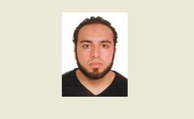 El sospechoso Ahmad Khan Rahami, de 28 años.,