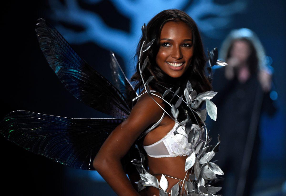 """La modelo fue nombrada """"ángel"""" recientemente."""