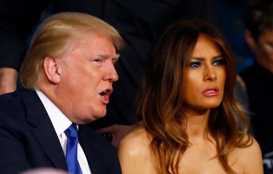 Melania Trump pide a los votantes que perdonen a su esposo por comentarios vulgares