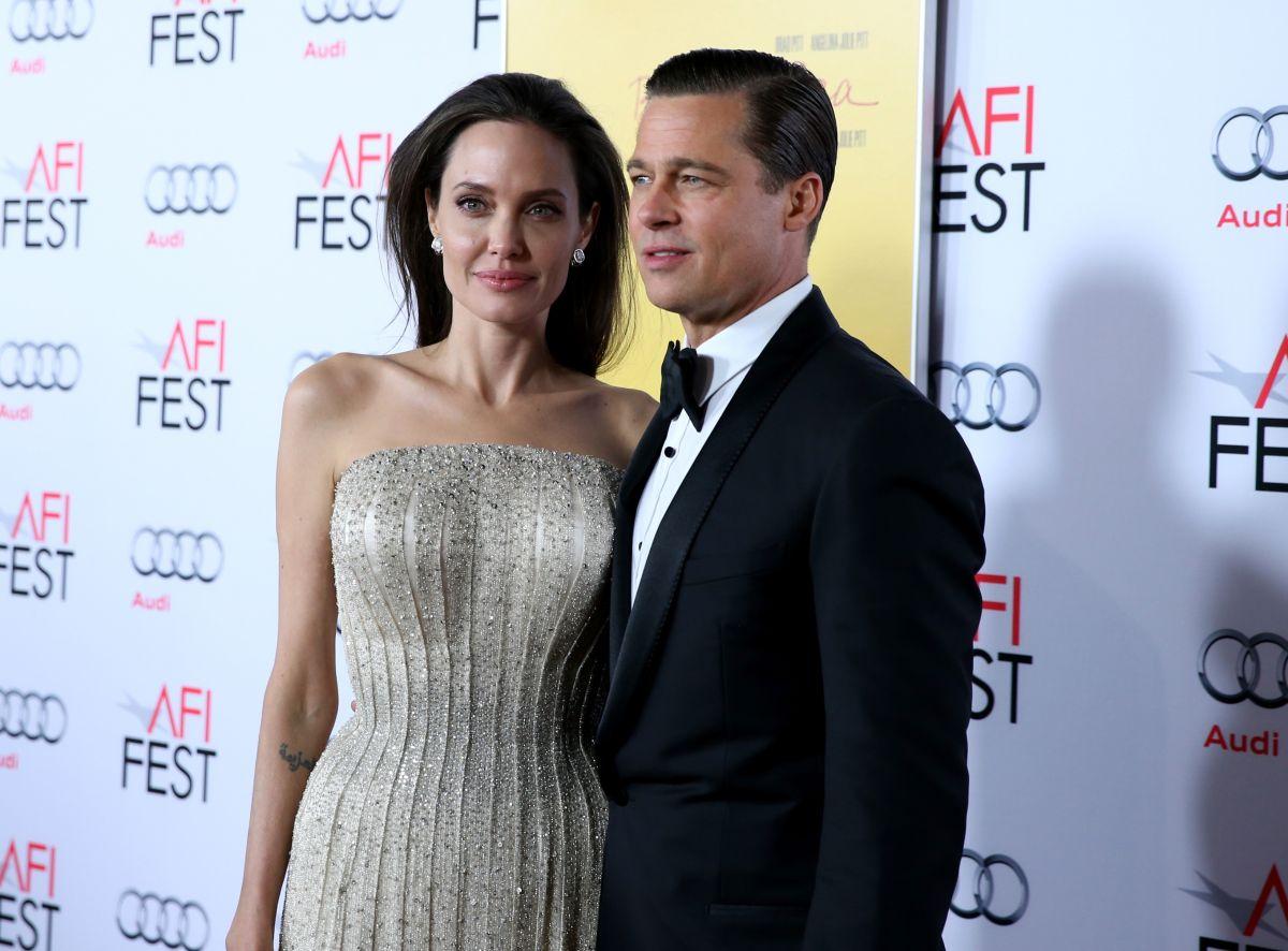 Brad Pitt y Angelina Jolie tienen seis hijos, de los cuales cinco son menos de edad.