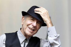 Los famosos lloran en las redes la muerte de Leonard Cohen