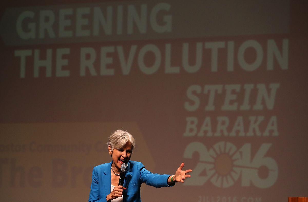 Jill Stein ha sido candidata por el Partido Verde en dos ocasiones.