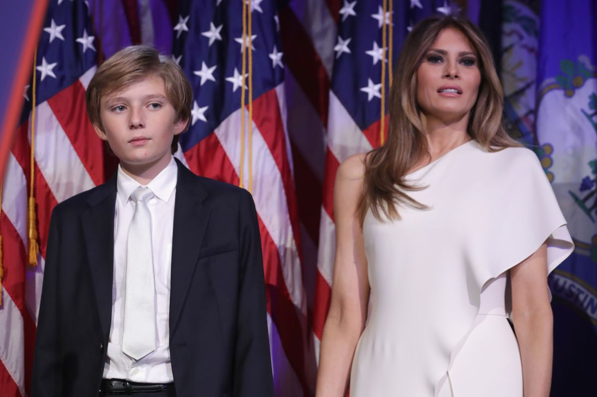 Melania Trump quiere que su hijo termine el ciclo escolar en Manhattan.