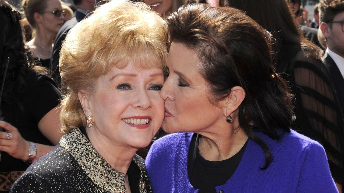 Se revelan las causas oficiales de la muerte de Carrie Fisher y Debbie Reynolds