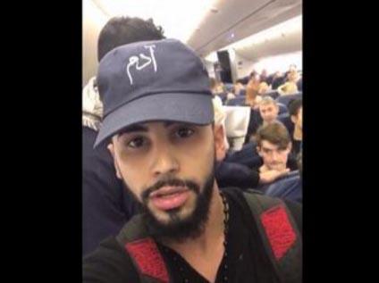 Lo sacan de avión por hablar en árabe, pero hay un serio problema con este video