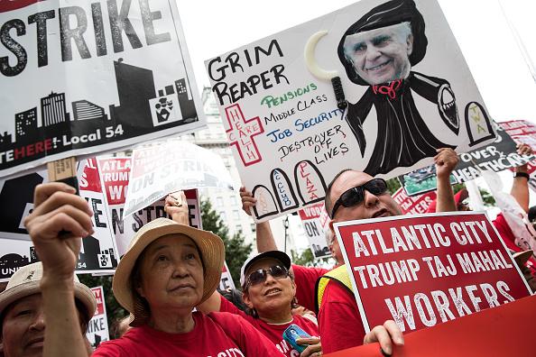 Carl Icahn y su empresa fue la encargada de cerrar el casino del presidente electo en Atlantic City.