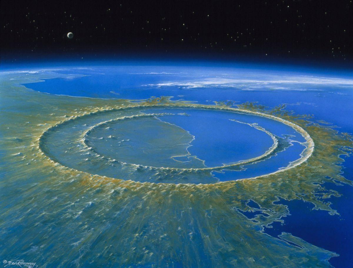 El cráter en la península de Yucatán, México, sigue revelando sus misterios.