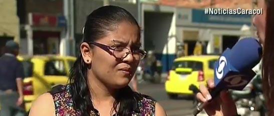 Un colombiano decidió comprarle el tiquete de vuelta a su país a Liliana Yazmin.