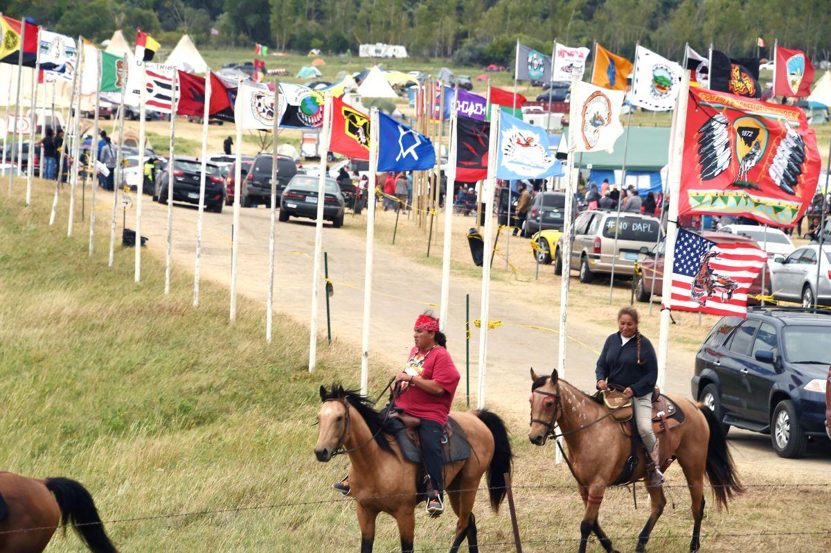 El movimiento en Standing Rock fue respaldado por comunidades indígenas de todo el pais.
