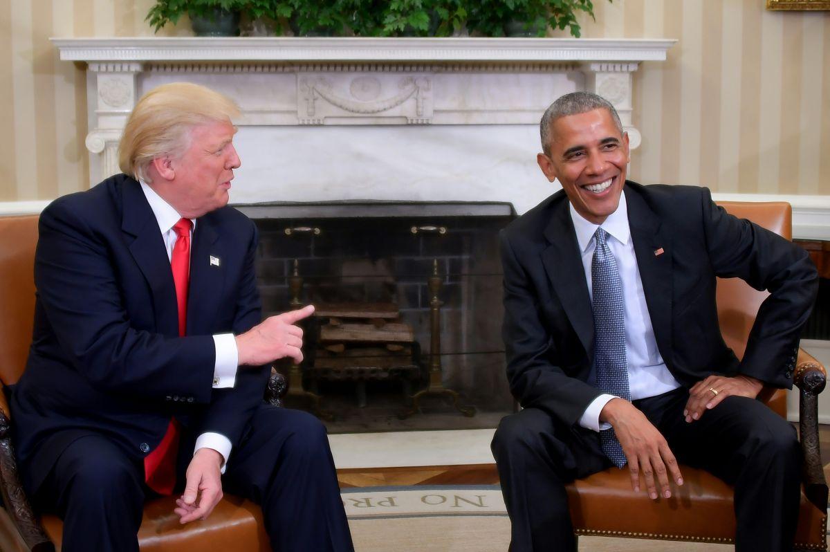 Donald Trump y Barack Obama se conocieron por primera vez en la Casa Blanca.