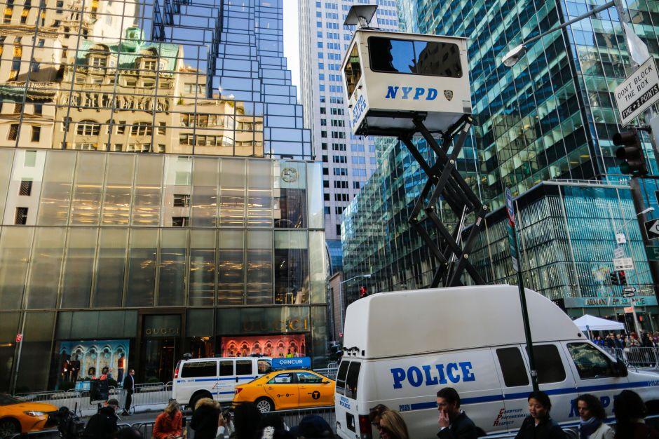 NYC pide 35 millones dólares de fondos federales para seguridad de Trump