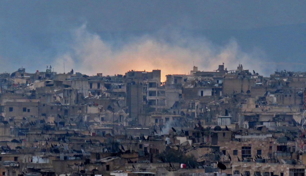 Alepo ha pasado uno de sus peores batallas.