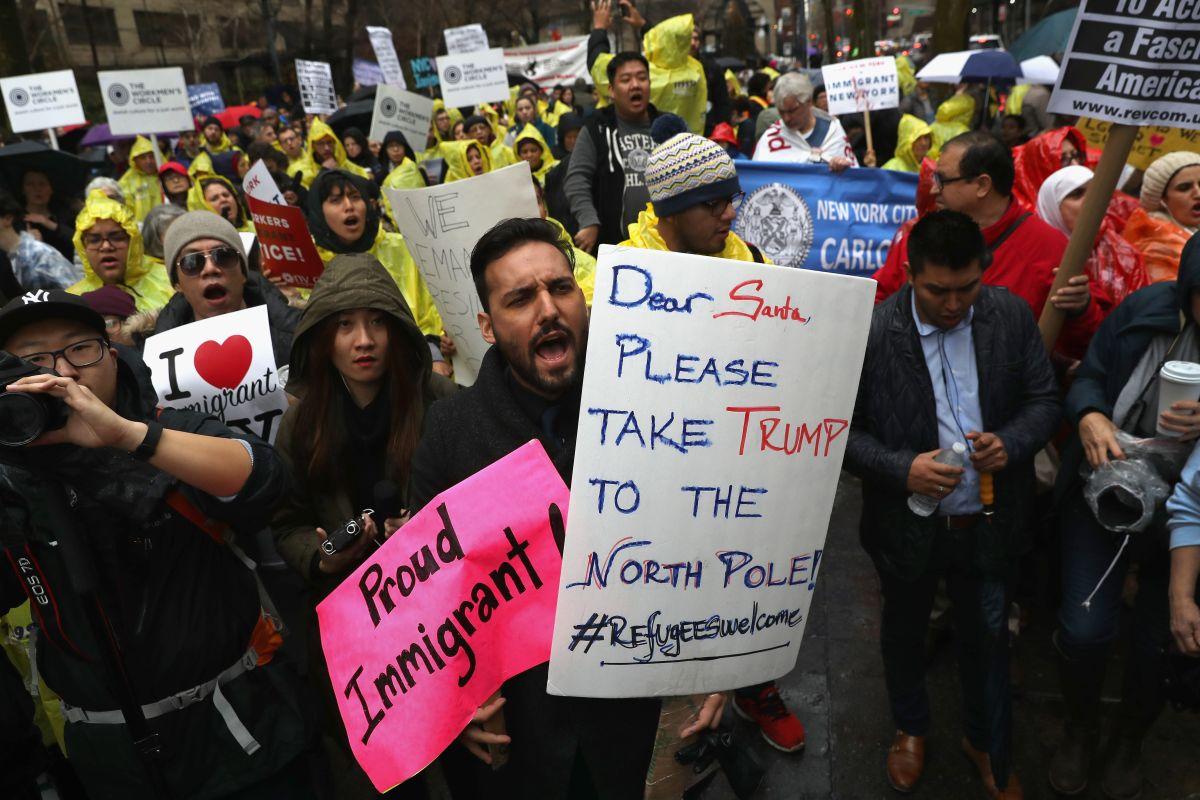 El Día Internacional de Migrante fue el momento perfecto para pedirle a Trump evitar políticas antimigratorias.