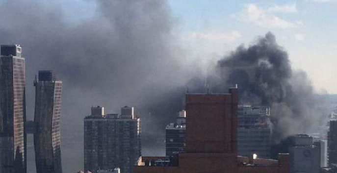No se han reportado heridos en el fuego de NYU Langone Medical Center.