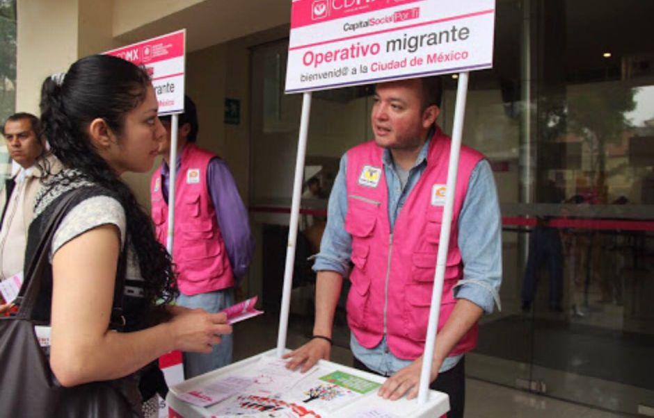 CDMX ayuda económicamente a inmigrantes deportados de cualquier país