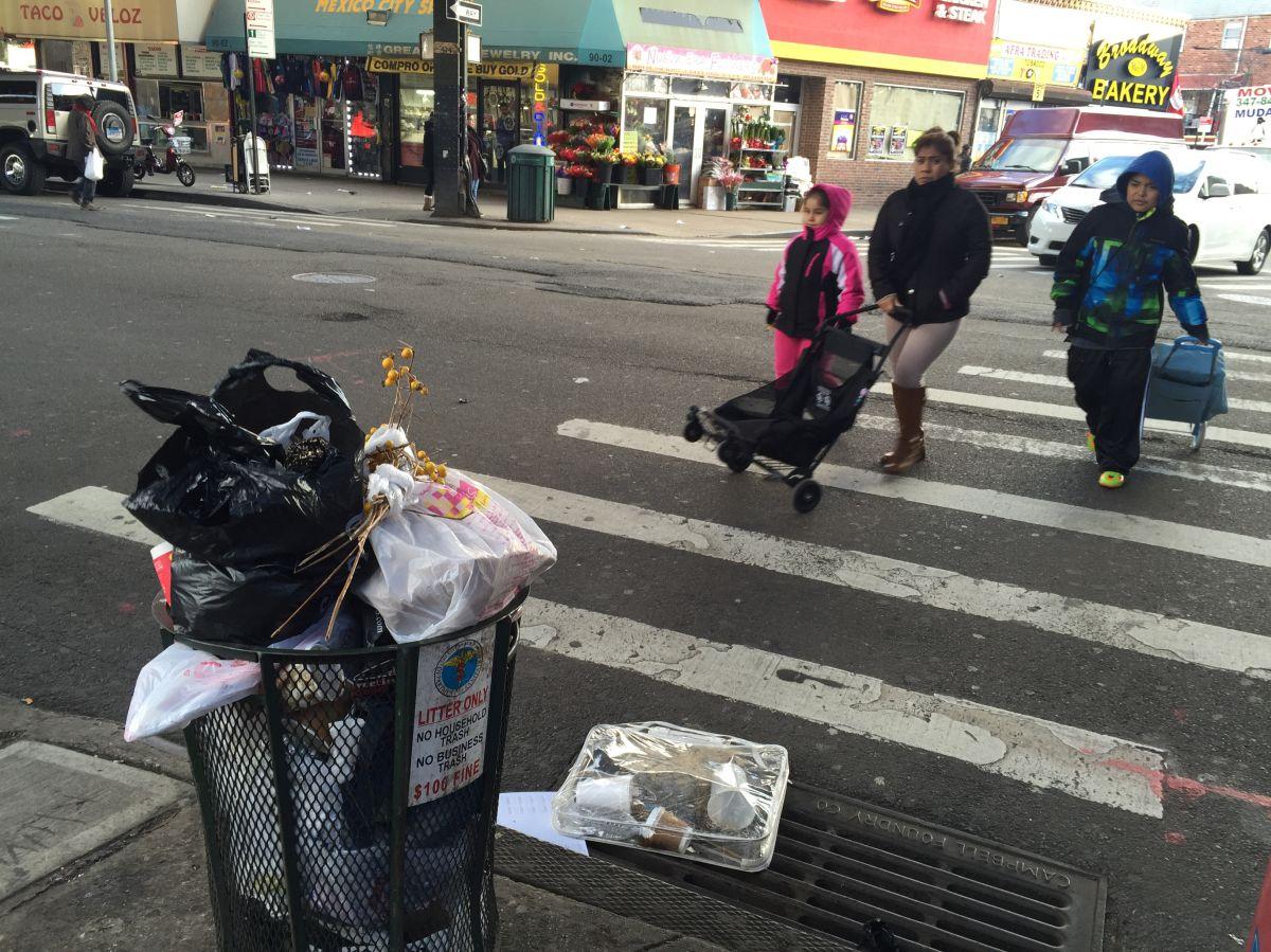 Lucha contra la basura en NYC todavía es insuficiente