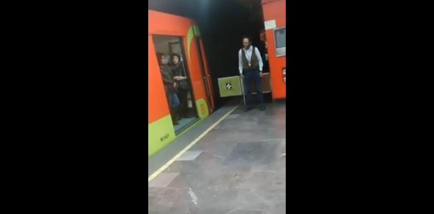 Video: El amable conductor del metro que causa sensación en redes