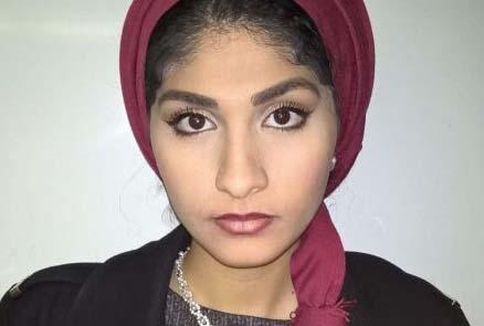 La joven es de origen egipcio.