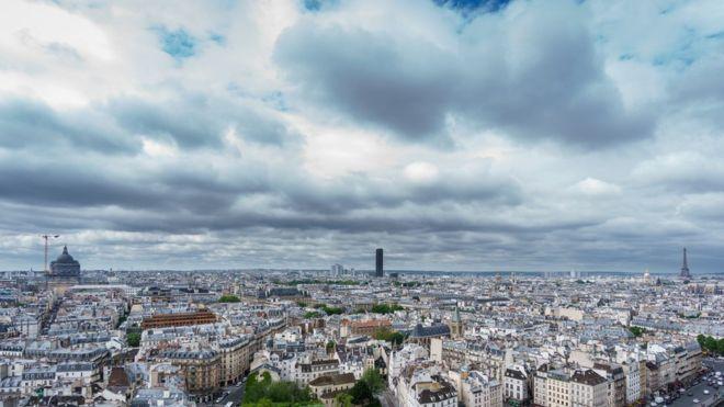 Las ratas están azotando a París.