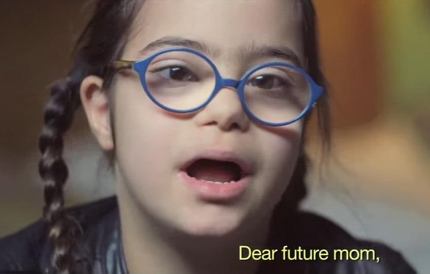 """""""Querida futura mamá"""" es un video parte de una campaña sobre el Síndrome de Down."""