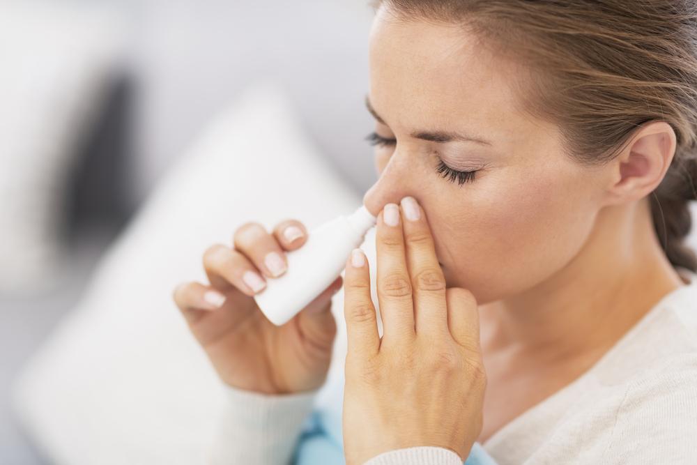 El uso prolongado de spray nasal puede ser contraproducente.
