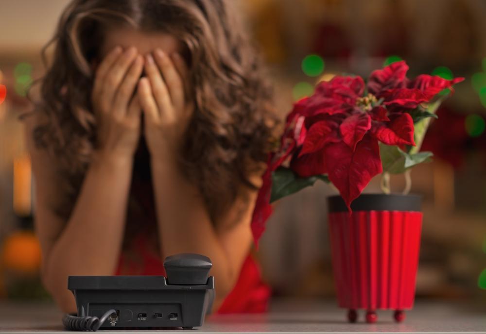 Para algunas personas, no hay nada de maravilloso de la temporada festiva.