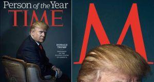 """Los """"cuernos"""" de Trump en """"TIME"""" que han desatado polémica en redes"""