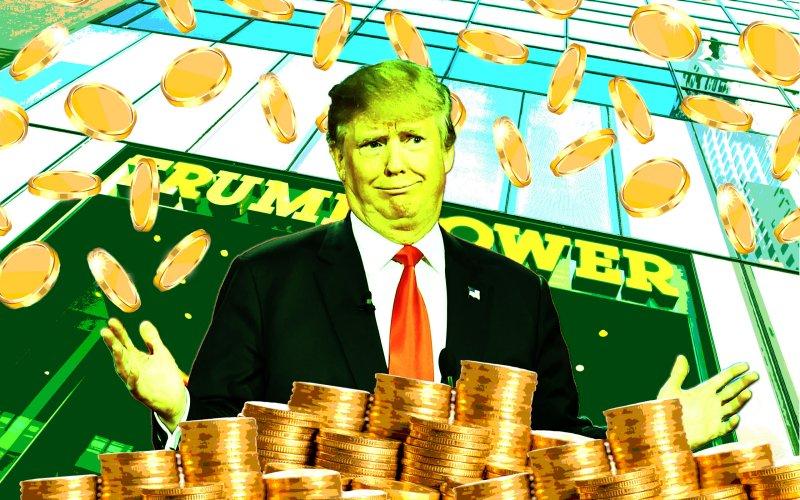 El presidente electo supo combinar campaña y negocios.