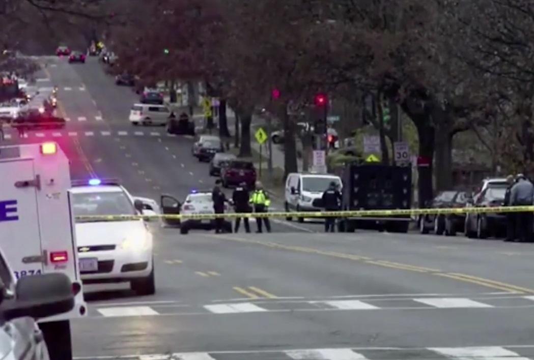 El incidente provocó una movilización policiaca en Washington.
