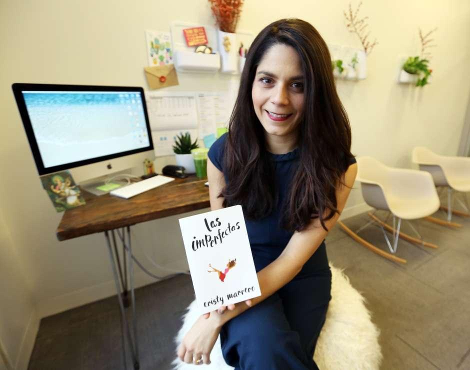 """Autora del libro """"Las Imperfectas"""" Cristy Marrero."""