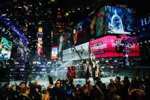 Renovaron los cristales de la bola de año nuevo en Times Square, pero la ceremonia será virtual con Jennifer López