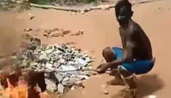 Video: Presos amotinados queman cuerpos de sus rivales y…¿se los comen?