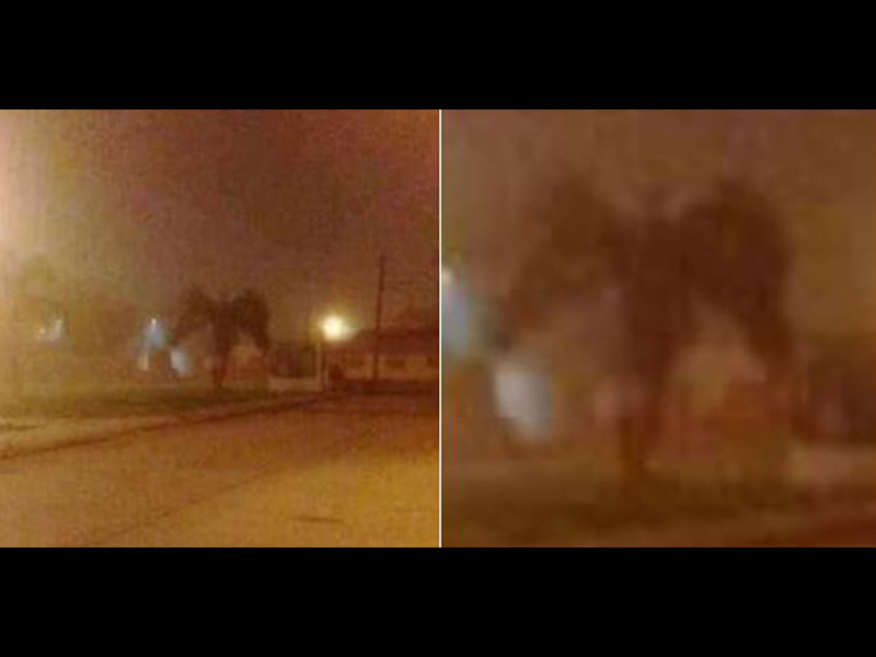 Foto: ¿El demonio se apareció en Arizona?