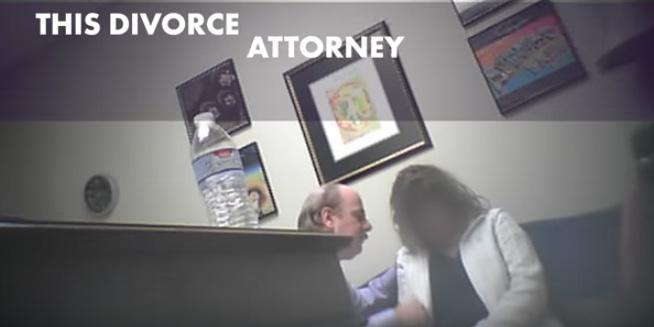 Video: El abogado de divorcios que hipnotizó a su clienta para hacer una barbaridad
