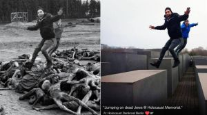 La web que denuncia a quienes se sacan selfies en el monumento del Holocausto