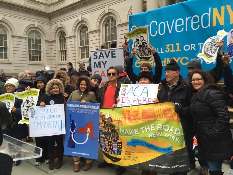 La organización Make the Road New York continúa luchando por los derechos de los inmigrantes. /Archivo