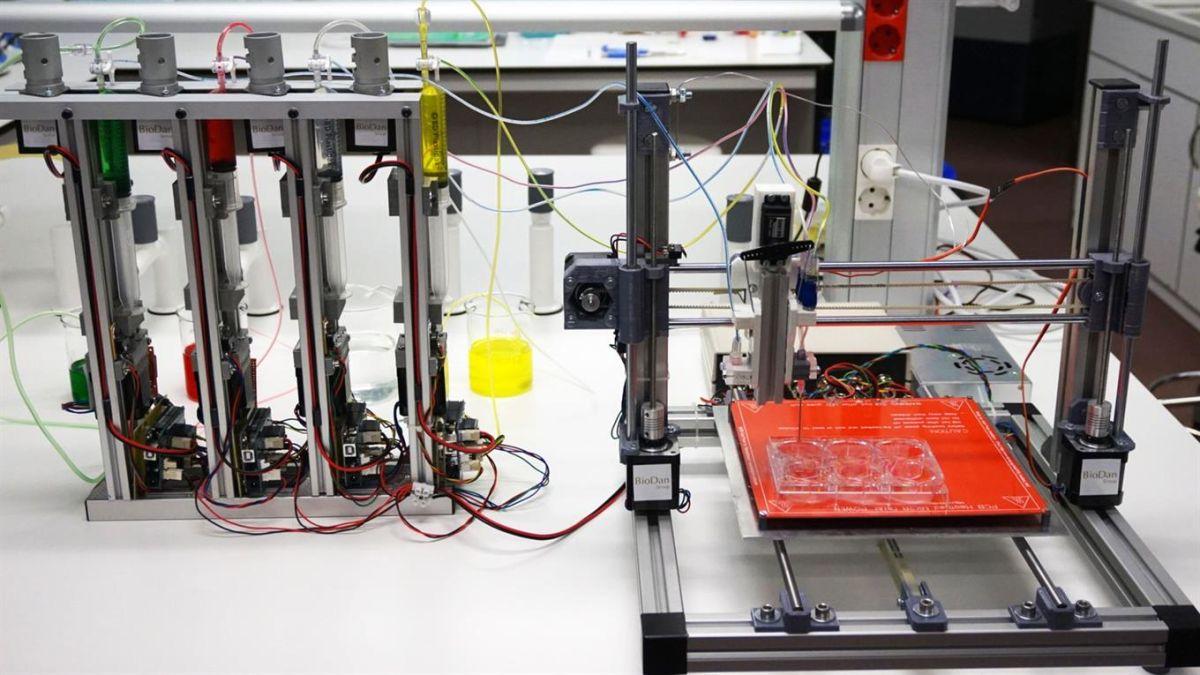 """Video: La bioimpresora 3D que """"imprime"""" piel humana"""