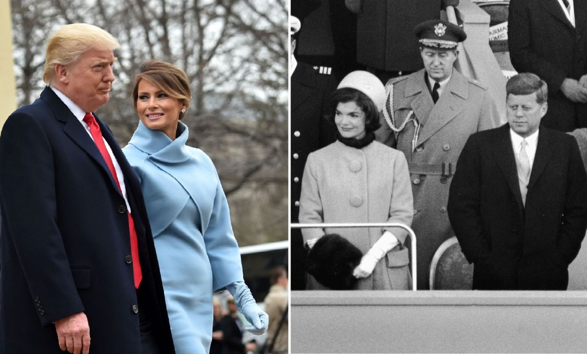 Melania Trump retoma el estilo de Jacqueline Kennedy