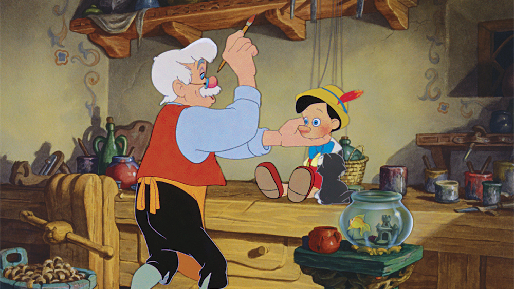 Disney lanza Pinocho por primera vez en Digital HD y Blu-ray