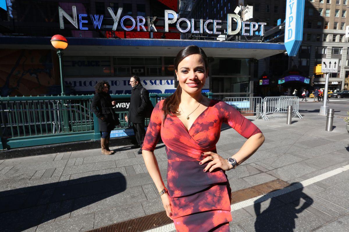 La policía más sexy de Nueva York es hispana y participa en la Fashion Week