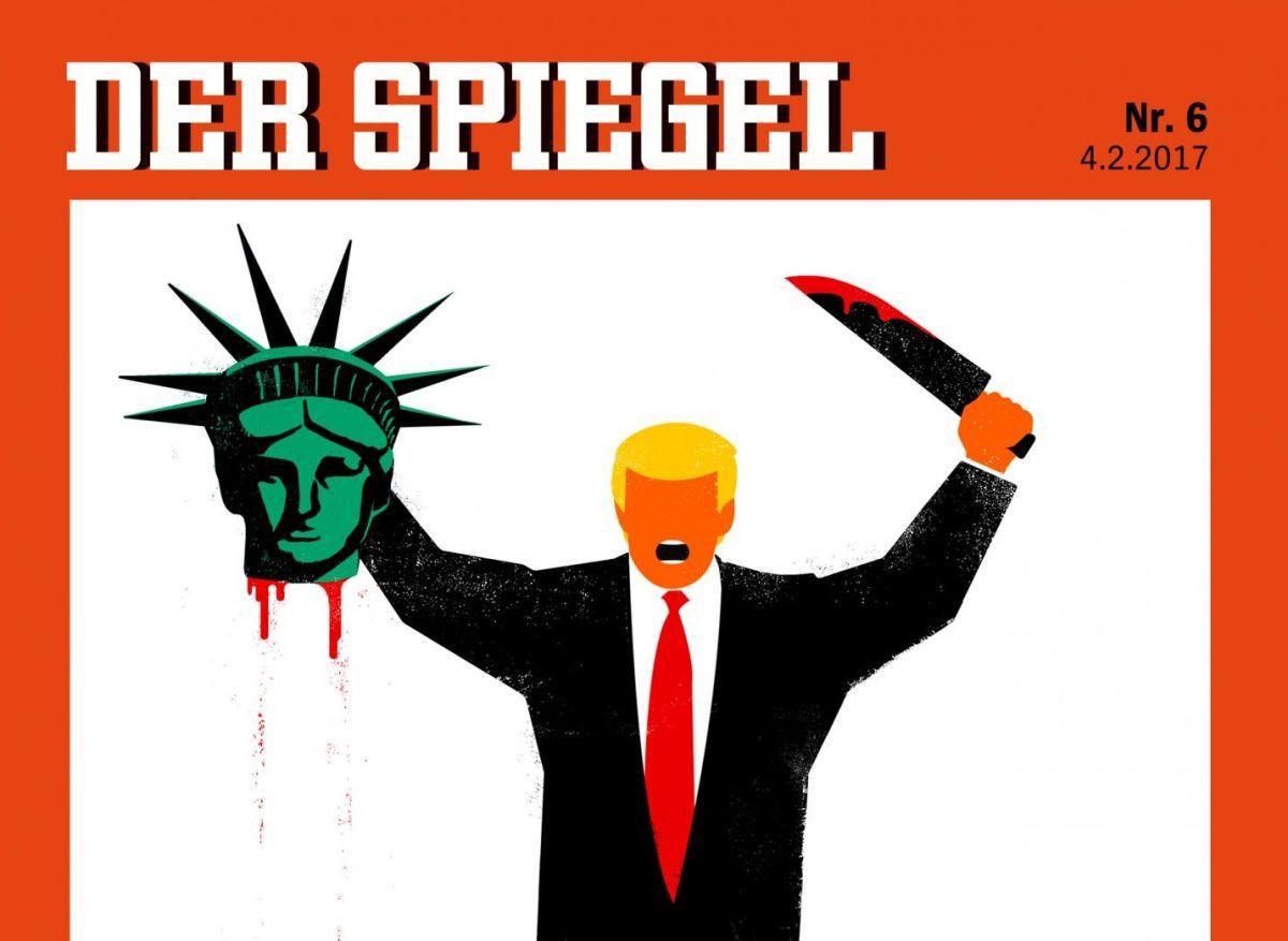 La polémica portada sobre Trump de una revista alemana (y otras)